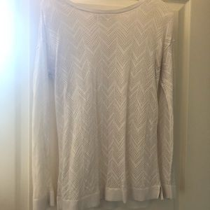 LOFT Cutout Sweater